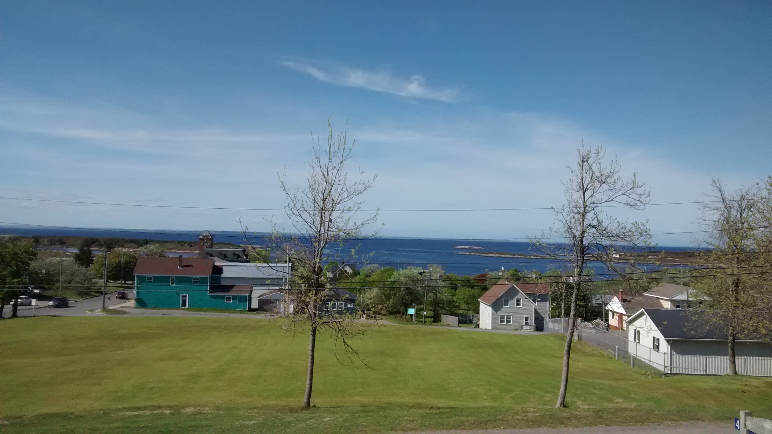 Beautiful view from our Canso office